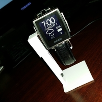 Small Simple Pebble Steel Holder 3D Printing 198304