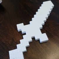 Small minecraft sword 3D Printing 198327