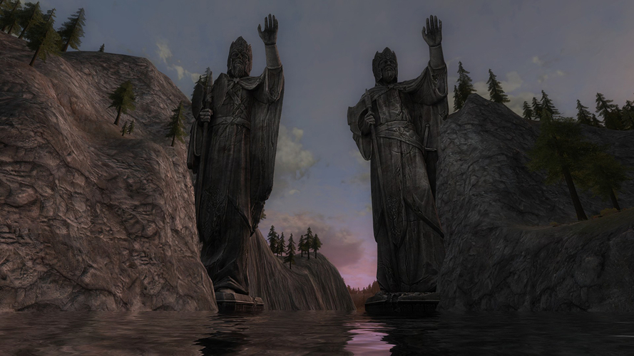 Argonath - The Lord of the Rings Online 3D Print 198413