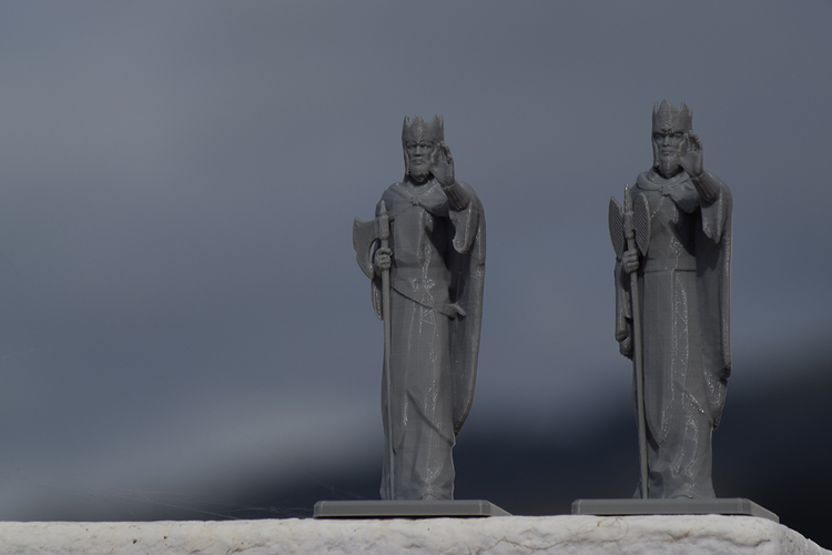 Argonath - The Lord of the Rings Online 3D Print 198418