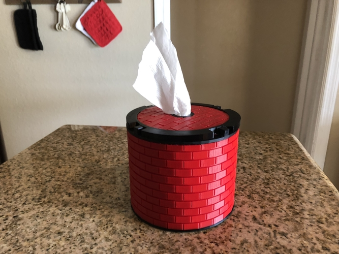 Another TP Tissue Dispenser 3D Print 198553