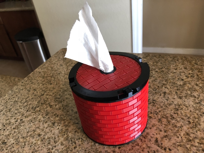 Another TP Tissue Dispenser 3D Print 198555