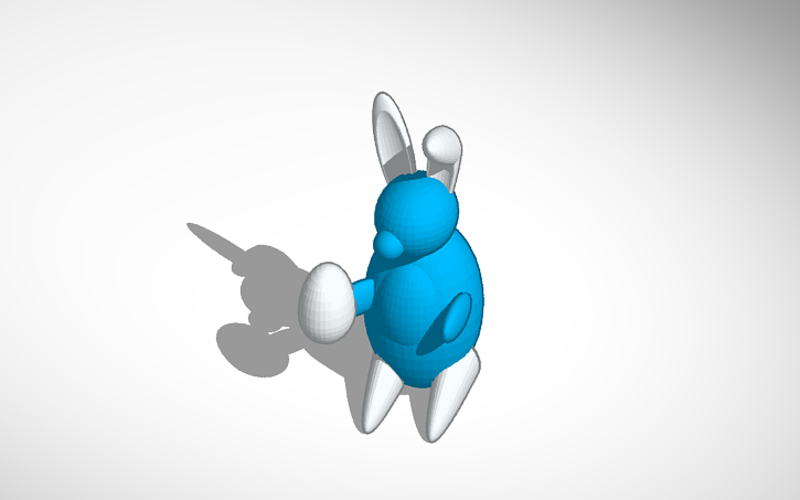 Easter Bunny 3D Print 198557