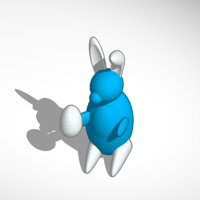 Small Easter Bunny 3D Printing 198557