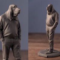 Small Lysander Atwood - Portrait 3D Printing 198559