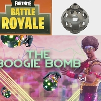 Small Fortnite BOOGIE WOOGIE Bomb NeoPixel and MP3 Player 3D Printing 198589