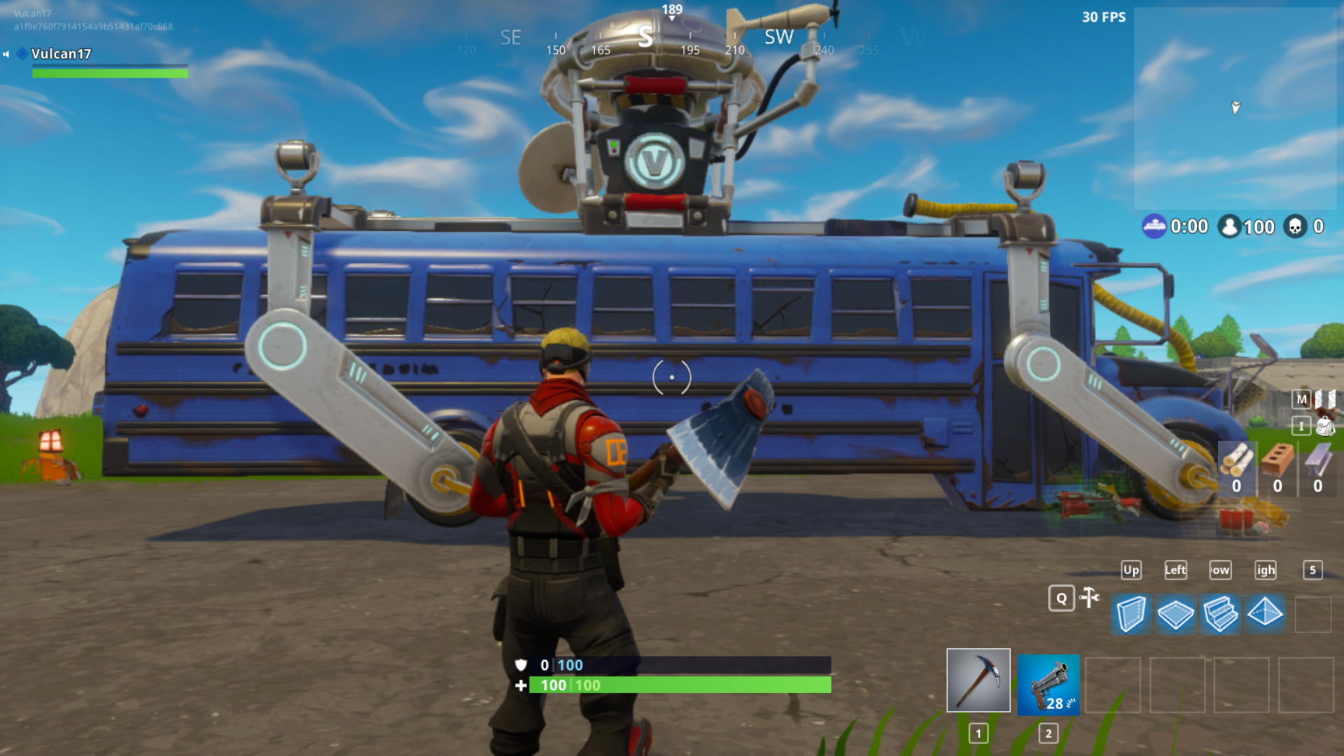 3d Printed Battle Bus Fortnite By Vulcan Industries Pinshape