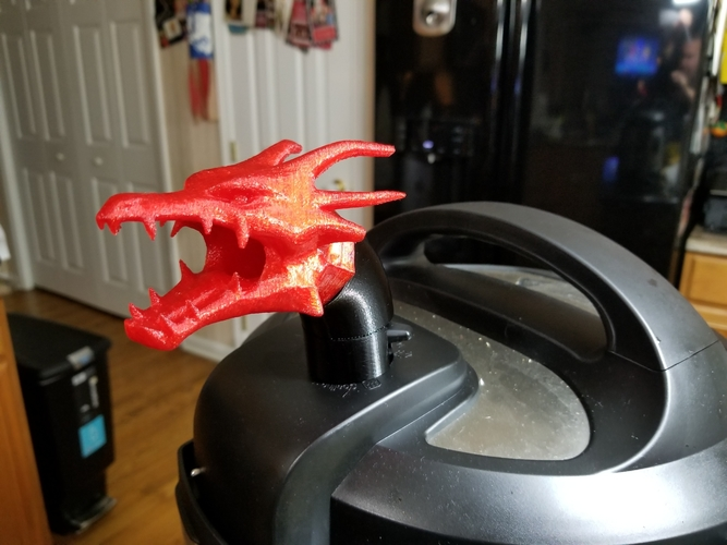 Instant Pot Steam Dragon 3D Print 198690