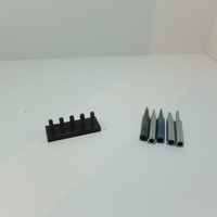 Small Soldering Tips Stand 3D Printing 198808