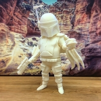 Small Boba Fat 3D Printing 198825