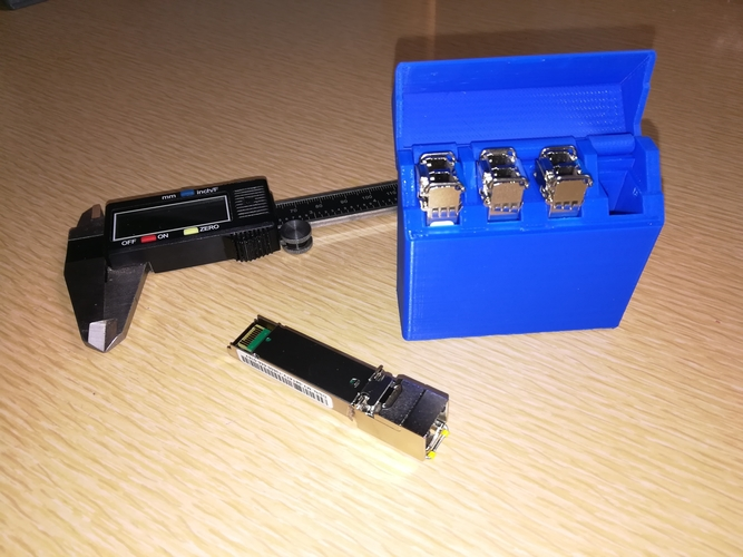 SFP Kit  ( Switch Fiber Port ) 3D Print 198864