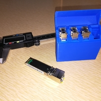 Small SFP Kit  ( Switch Fiber Port ) 3D Printing 198864