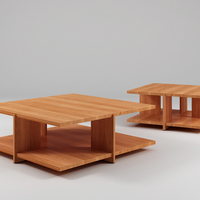 Small Tables with Wood Like Color 3D Printing 198873