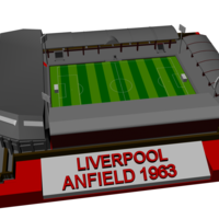 Small Liverpool - Anfield 1963 3D Printing 198875