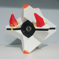Small Destiny Ghost - Deviled Ghost 3D Printing 199123