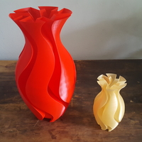 Small Experimental Vase 3D Printing 199143