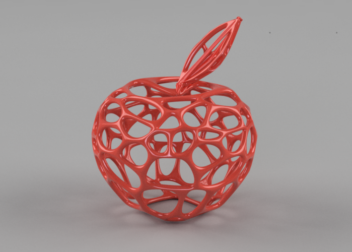 Voronoi Apple  3D Print 199213