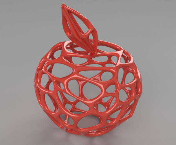 Voronoi Apple  3D Print 199216