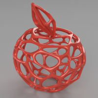 Small Voronoi Apple  3D Printing 199216