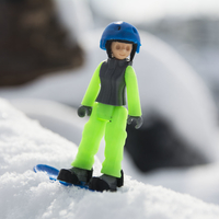 Small Snowboarder girl 3D Printing 199255