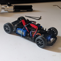Small OpenZ v3b Chassis (1:28 RC) 3D Printing 199271