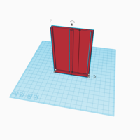 Small Rail pencil holder(Plz read the instructions) 3D Printing 199294