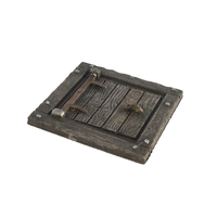 Small HG3D - Tavern Trap Door - Raghaven Collection - 28mm 3D Printing 199405