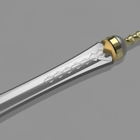 Small Ryse Son of Rome Gladius 3D Printing 199528