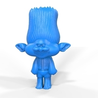 Small Troll Branch 3D Printing 199538