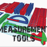 Small Precision Measurement Tools 3D Printing 199543