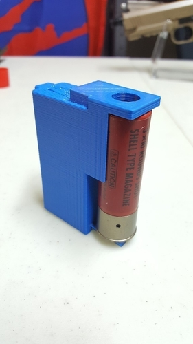 Odin Airsoft BB Loader Adapter for 30 round shotgun shells 3D Print 199615