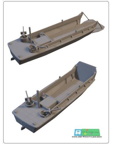 US landingcraft -stl file- 3D print model 3D print model 3D Print 199628