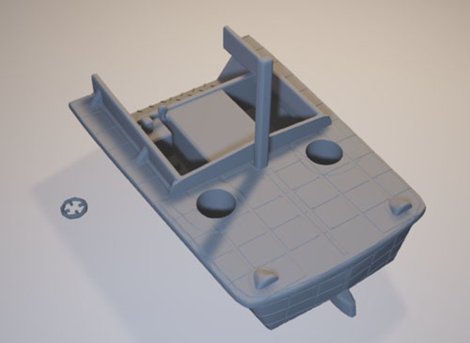 US landingcraft -stl file- 3D print model 3D print model 3D Print 199629