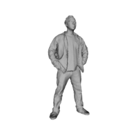 Small Printle Homme 032 3D Printing 199748