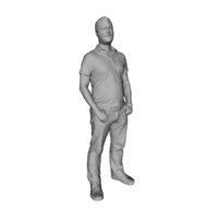 Small Printle Homme 038 3D Printing 199798
