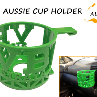 Small Aussie Car Cup Holder 3D Printing 200056