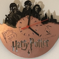 Small Harry Potter clock  3D Printing 200067