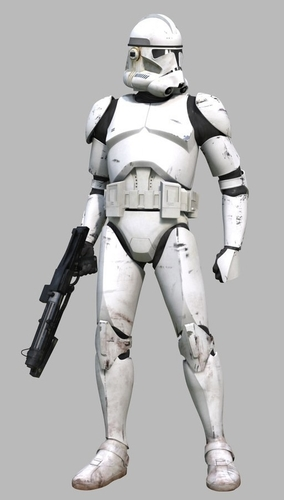 Star Wars Clone Trooper Phase 2 Full Armor 3D print model 3D Print 200098