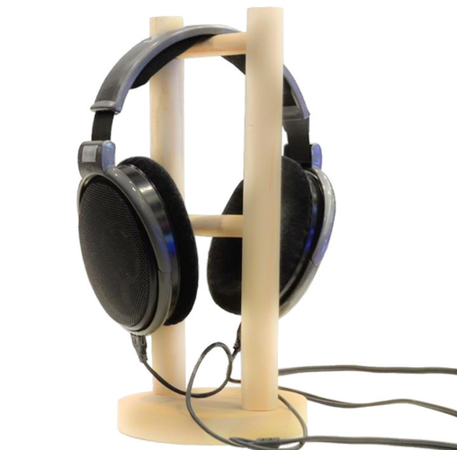 Simple Headphone stand 3D Print 200105