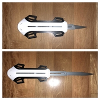 Small Assassins Creed Modern Blade  3D Printing 200162