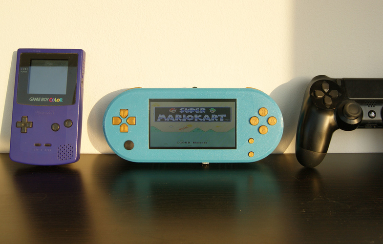 GamePi Zero - The Portable Emulation Console 3D Print 200202