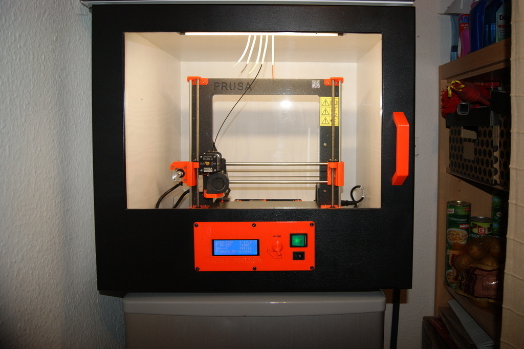 Original Prusa i3 Mk3 - Build-in LCD Plate @ Pinshape