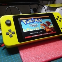 Small GamePi XL - The Portable Emulation Console 3D Printing 200214