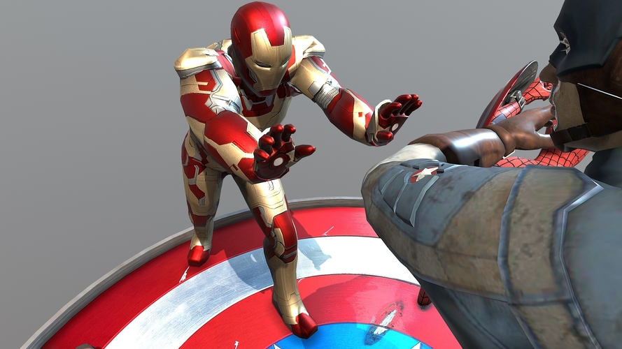 Civil war 3D Print 200244