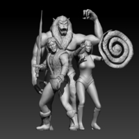 Small Thundaar The Barbarian 3D Printing 200304