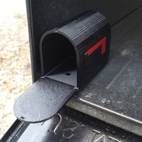 Small Dog Mail Box 3D Printing 20040