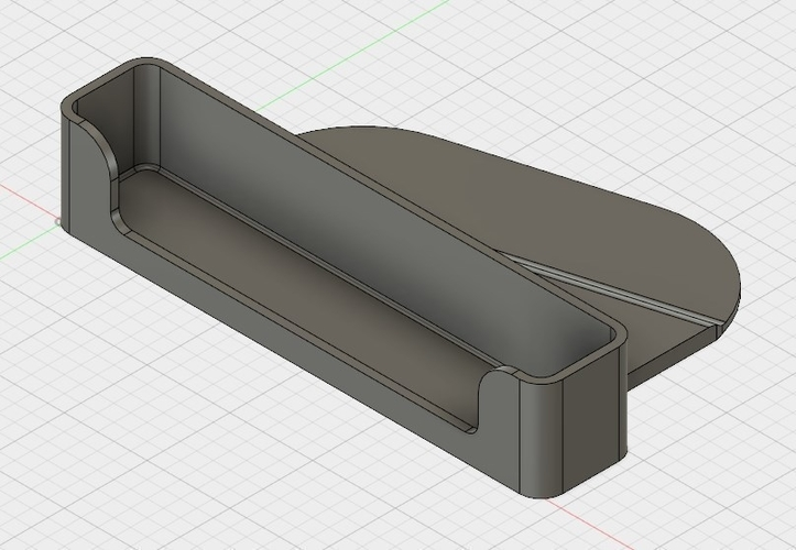iPhone 5/5S/6/6S holder to CD slot car 3D Print 200441
