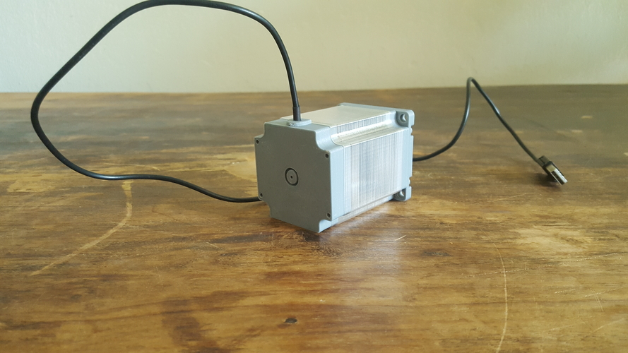 ​Nema 23 Stepper Motor Lamp 3D Print 200557