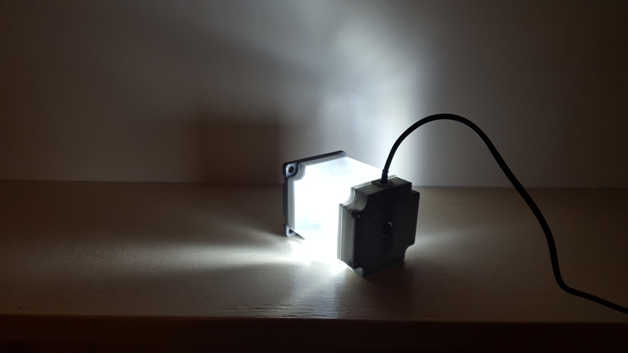 ​Nema 23 Stepper Motor Lamp 3D Print 200560