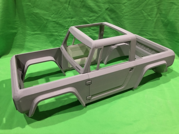 Medium Bronco Concept RC Body 3D Printing 200619
